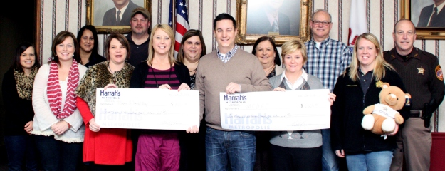 Harrah's New Year's Eve Bash benefits MCDAC and Unitie Way