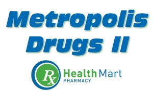 Metropolis Drugs logo