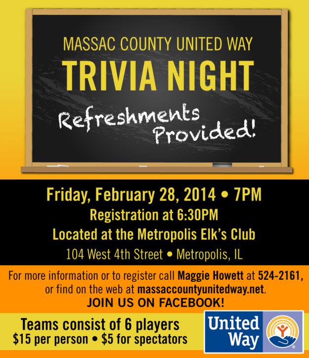 Massac County Trivia Night