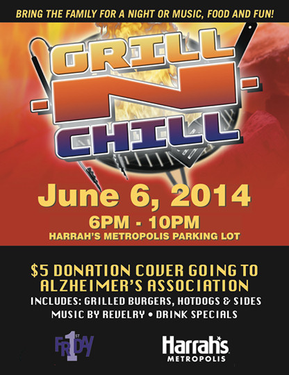 Harrah's 1st Friday Grill N Chill image