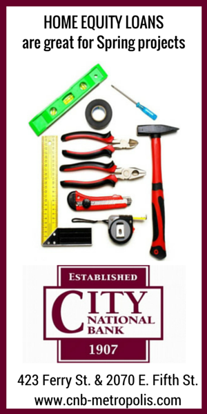 City National Bank - Spring equity loans