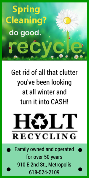 Holt Recyclers Sponsor Ad