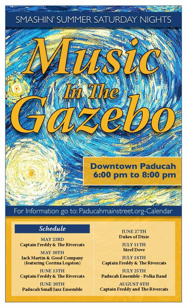 Music in gazebo