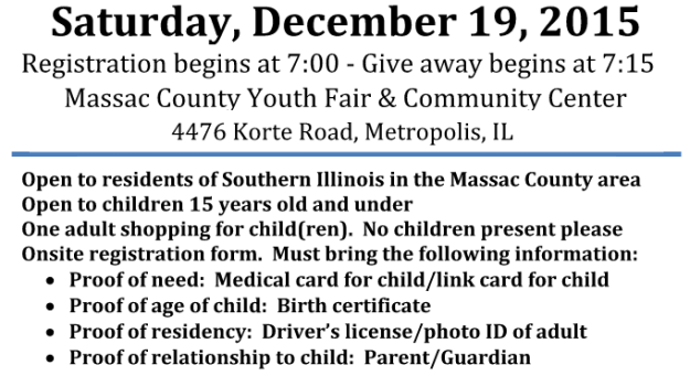 Toy Drive Giveaway day
