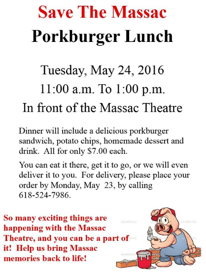 Porkburger lunch May 2016