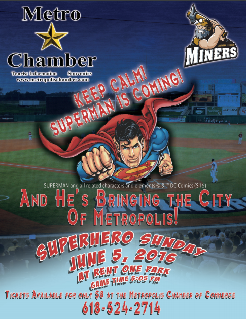 Super Hero at Miners Game
