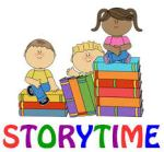 Story time kids with books